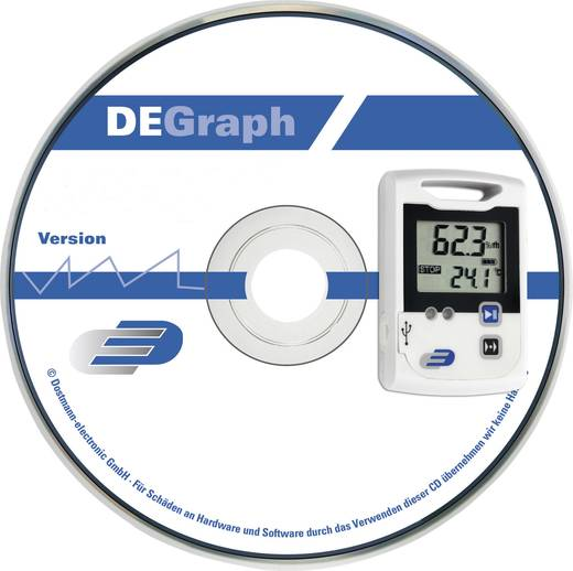 Dostmann Electronic DE Graph für LOG100/110 Software Passend für LOG100, LOG110