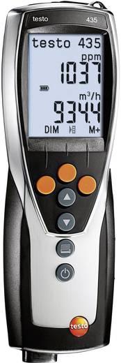 Luftfeuchtemessgerät (Hygrometer) testo testo 435-1 0 % rF 100 % rF Kalibriert nach: Werksstandard