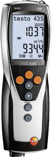 Luftfeuchtemessgerät (Hygrometer) testo testo 435-3 0 % rF 100 % rF Kalibriert nach: Werksstandard