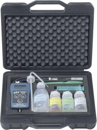 Stelzner pH AGRAR 2000 komplett mit Koffer Boden pH Messkoffer pH AGRAR 2000 Genauigkeit ± 0,02 Messbereich 0 bis 14