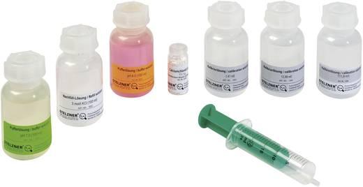 Stelzner Nachfüll-Lösung mit Einfüllspritze Nachfüll-Lösung mit Einfüllspritze für pH-Elektroden, 3 mol/l KCl 100 ml Flasche