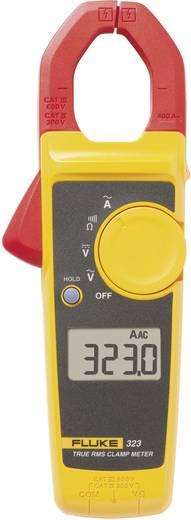 Stromzange, Hand-Multimeter digital Fluke 323 Kalibriert nach: Werksstandard CAT III 600 V, CAT IV 300 V Anzeige (Count