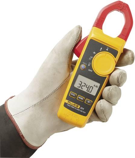 Stromzange, Hand-Multimeter digital Fluke 324 Kalibriert nach: Werksstandard CAT III 600 V, CAT IV 300 V Anzeige (Count