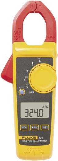 Stromzange, Hand-Multimeter digital Fluke Fluke 324 Kalibriert nach: Werksstandard CAT III 600 V, CAT IV 300 V Anzeige (Counts): 4000