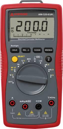 Hand-Multimeter digital Beha Amprobe AM-520-EUR Kalibriert nach: ISO CAT II 1000 V, CAT III 600 V Anzeige (Counts): 400