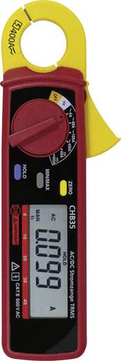 Stromzange, Hand-Multimeter digital Beha Amprobe CHB35 Kalibriert nach: DAkkS CAT II 600 V Anzeige (Counts): 4000