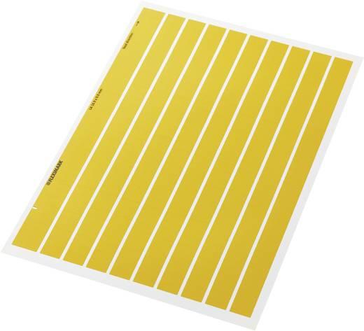Kabel-Etikett Fleximark 15 x 6 mm Farbe Beschriftungsfeld: Gelb LappKabel 83256204 FLEXIMARK ETIKET LA 15-6 YE Anzahl Et