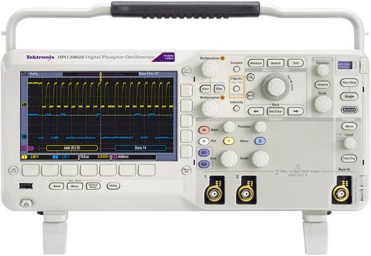 Digital-Oszilloskop Tektronix DPO2002B 70 MHz 2-Kanal 1 GSa/s 1 Mpts 8 Bit Kalibriert nach ISO Digital-Speicher (DSO)