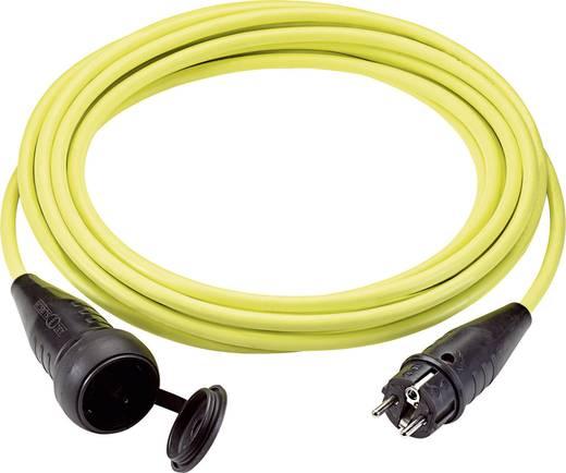 Strom Verlängerungskabel [ Schutzkontakt-Gummi-Stecker - Schutzkontakt-Gummi-Kupplung] 16 A Gelb 10 m LappKabel 732223