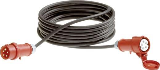 Strom Verlängerungskabel [ CEE-Stecker - CEE-Kupplung] Schwarz 25 m LappKabel 71222305