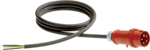 Strom Anschlusskabel [ CEE-Stecker - Kabel, offenes Ende] Schwarz 5 m LappKabel 71222242
