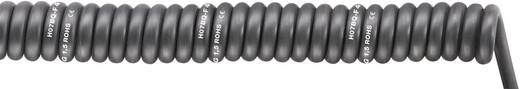 Spiralkabel SPIRAL H07BQ-F 1000 mm / 3000 mm 4 x 1.50 mm² Schwarz LappKabel 70002755 1 St.