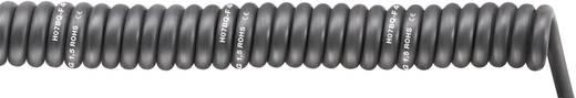 Spiralkabel SPIRAL H07BQ-F 500 mm / 1500 mm 5 x 1.50 mm² Schwarz LappKabel 70002758 1 St.