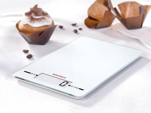 Küchenwaage digital Soehnle Wägebereich (max.)=5 kg Weiß