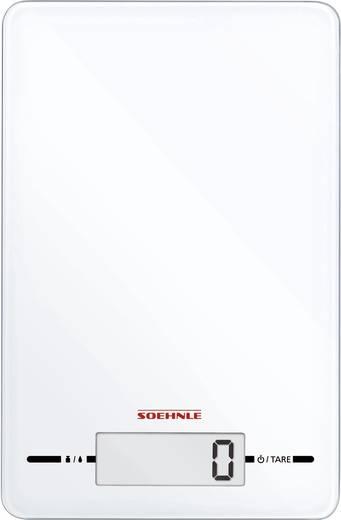 Küchenwaage digital Soehnle Page Evolution white Wägebereich (max.)=5 kg Weiß
