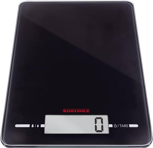 Küchenwaage digital Soehnle Page Evolution black Wägebereich (max.)=5 kg Schwarz