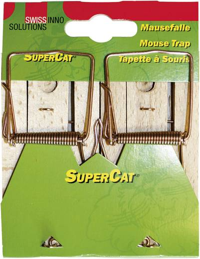Mausefalle Swissinno SuperCat Classic 2 St.