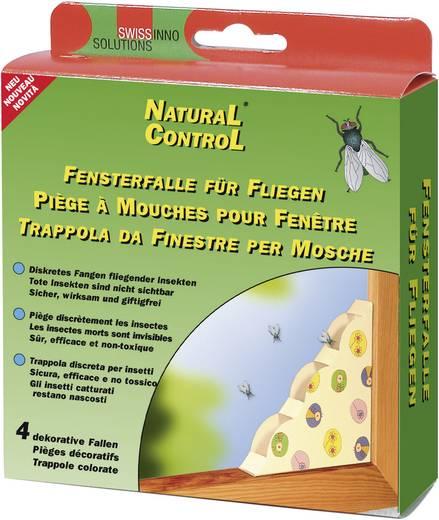Fliegenfalle Swissinno Natural Control dekor 1 463 202 Verschiedenfarbig sortiert 4 St.