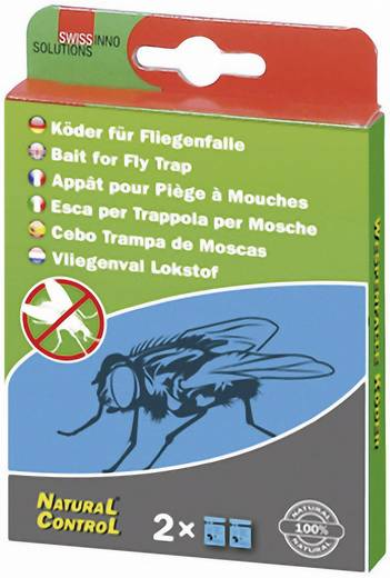 Ersatzköder Swissinno Köder natural Passend für Marke Swissinno Fliegenfalle Natural Control Outdoor 2 St.