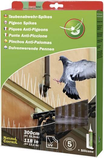 Taubenabwehr-Spikes Abschreckung Swissinno Natural Control Birds Away 300 cm 1 St.