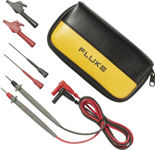Sicherheits-Messleitungs-Set 1.5 m Schwarz, Rot Fluke TL80A-1