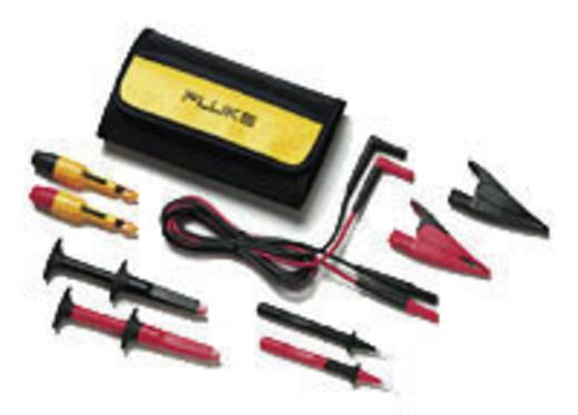 Fluke TLK281-1 Sicherheits-Messleitungs-Set [Lamellenstecker 4 mm - Lamellenstecker 4 mm] 1.5 m Schwarz, Rot
