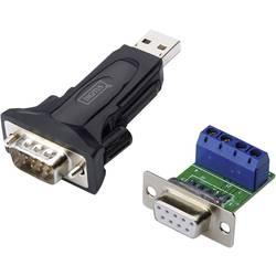 Sériový / USB adaptér USB 2.0 Digitus DA-70157 0.80 m, biela