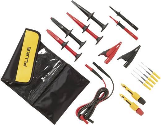 Fluke TLK282-1 Sicherheits-Messleitungs-Set [Lamellenstecker 4 mm - Lamellenstecker 4 mm] 1.5 m Schwarz, Rot