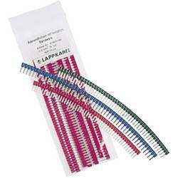 Dutinka LAPP 61805190, spojovací materiál , 1 mm², 8 mm, čiastočne izolované, červená, 500 ks