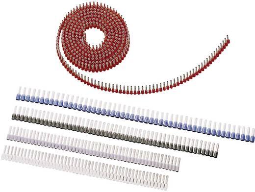 Aderendhülse 1 x 1 mm² x 8 mm Teilisoliert Rot LappKabel 61802056 3000 St.