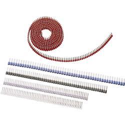 Dutinka LAPP 61802056, spojovací materiál , 1 mm², 8 mm, čiastočne izolované, červená, 3000 ks