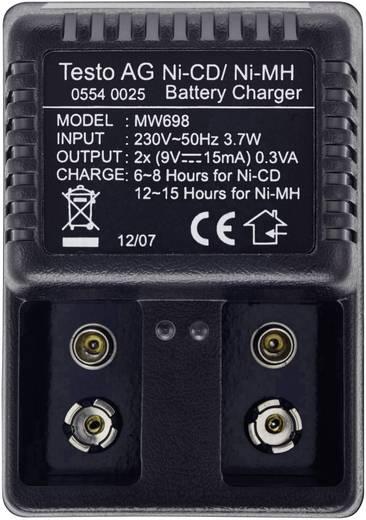 testo 0554 0025 Ladegerät 220/9V Akku, Passend für (Details) CO2-Messgerät testo 535 0554 0025
