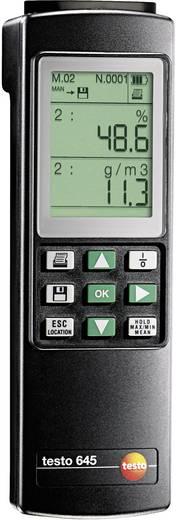 Luftfeuchtemessgerät (Hygrometer) testo Luftfeuchte-Messgeraet 645 0 % rF 100 % rF Kalibriert nach: Werksstandard (ohne