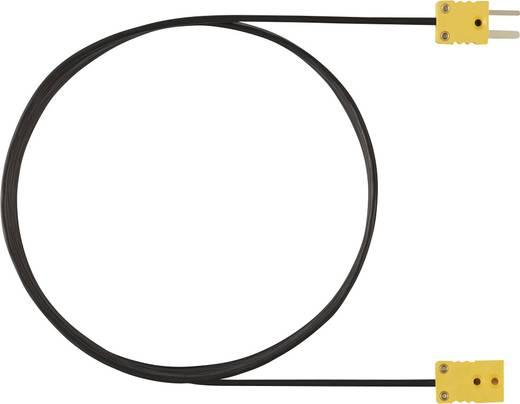 testo 0554 0592 Verlängerungsleitung, 5 m, für Thermoelement-Fühler Typ K, Passend für (Details) Thermometer testo 925 0