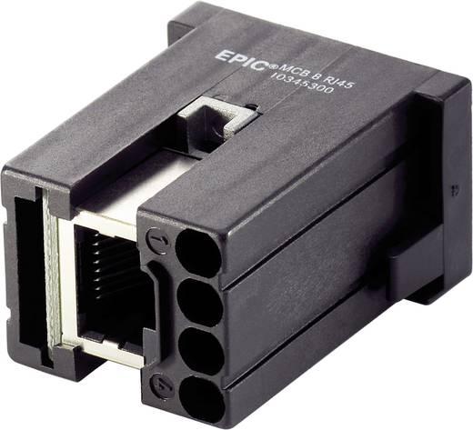 RJ45-Buchsenmodul EPIC® MC 10345300 LappKabel Gesamtpolzahl 4, 8 5 St.