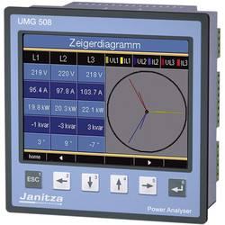 Multifunkčný sieťový analyzátor UMG 508 s Ethernetom a BACnetom Janitza UMG 508 5221001