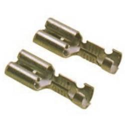 Faston zásuvka LAPP 63501010 s aretáciou, 6.3 mm x 0.8 mm, 180 °, neizolované, 100 ks
