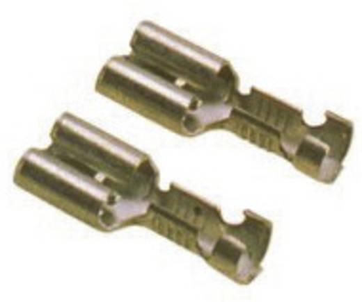 Flachsteckhülse mit Rastung Steckbreite: 6.3 mm Steckdicke: 0.8 mm 180 ° Unisoliert LappKabel 63501010 100 St.