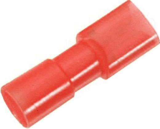 Flachsteckhülse Steckbreite: 4.8 mm Steckdicke: 0.8 mm 180 ° Vollisoliert Rot LappKabel 61794955 100 St.