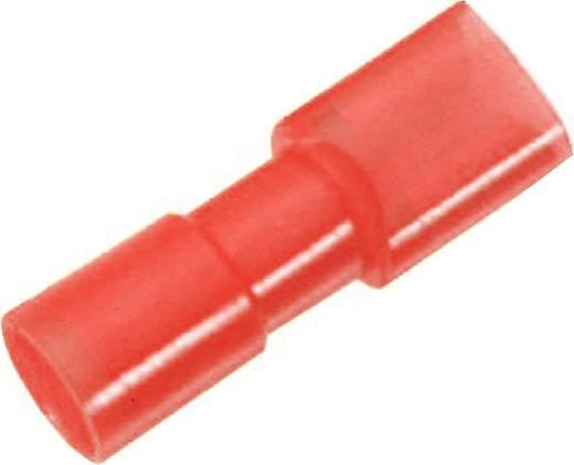 Flachsteckhülse Steckbreite: 4.8 mm Steckdicke: 0.5 mm 180 ° Vollisoliert Rot LappKabel 61794953 100 St.