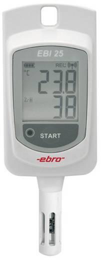 Multi-Datenlogger ebro EBI 25-TH Messgröße Temperatur, Luftfeuchtigkeit -30 bis 60 °C 0 bis 100 % rF Kalibriert n