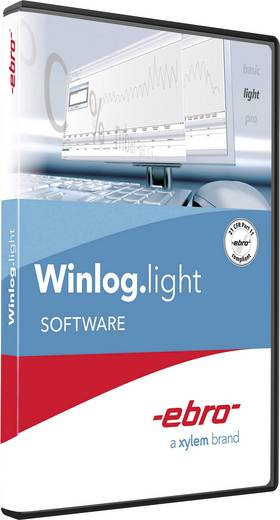 ebro Winlog.light Mess-Software Passend für Marke (Messgeräte-Zubehör) Ebro Ebro ebro® EBI 20 Datenlogger, Ebro ebro®