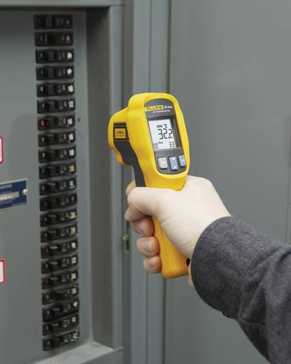 Infrarot-Thermometer Fluke 62 MAX PLUS Optik 12:1 -30 bis +650 °C Kalibriert nach: DAkkS