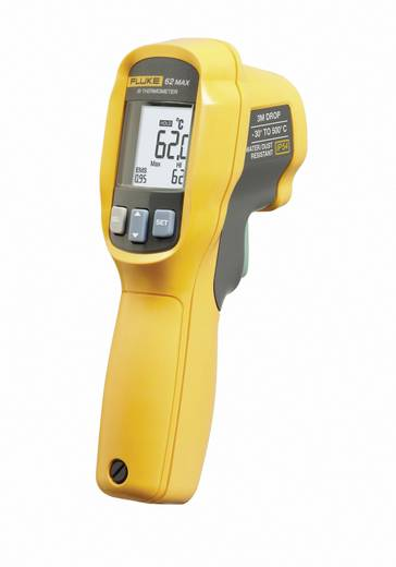 Infrarot-Thermometer Fluke FLUKE 62 MAX Optik 10:1 -30 bis +500 °C Kalibriert nach: ISO