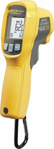 Fluke 62 MAX PLUS Infrarot-Thermometer Optik 12:1 -30 bis +650 °C Kalibriert nach: ISO