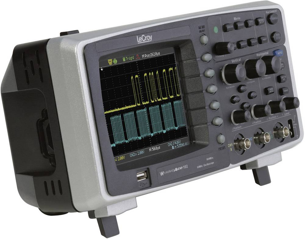 how to use digital storage oscilloscope