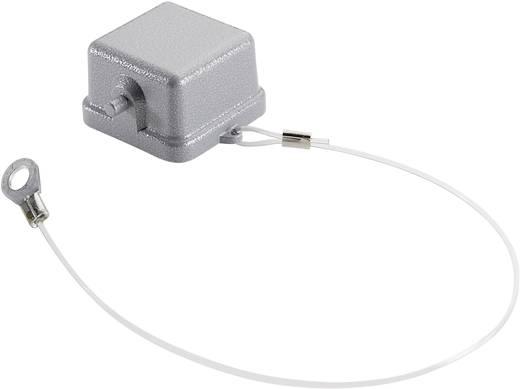 Schutzdeckel mit 2 Bolzen für Anbau-, Sockel-, Kupplungsgehäuse mit Stifteinsatz, Fangschnur mit Kabelschuh Serie H-A 3