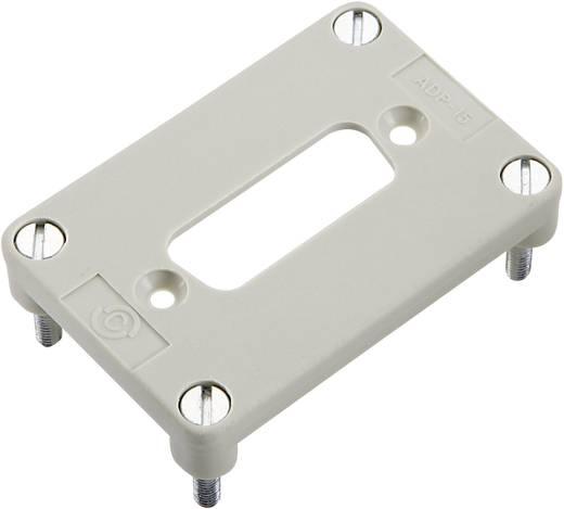 Adapterplatte für 1 D-SUB Einsatz 15-polig Serie H-B 6 H-B 6 11764202 LappKabel 10 St.