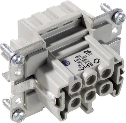 Buchseneinsatz EPIC® H-B 6 10401000 LappKabel Gesamtpolzahl 6 + PE 10 St.