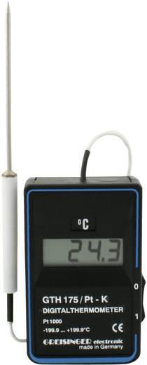 Greisinger GTH 175/PT-K Temperatur-Messgerät -199.9 bis +199.9 °C Fühler-Typ Pt1000 Kalibriert nach: Werksstandard (ohn
